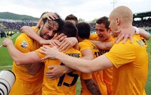 Serie A: Luca Toni's brace helps Hellas Verona beat Catania 4-0