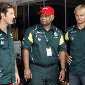 Three F1 teams to change name in 2012