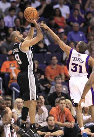 Spurs overcome Suns 107-100