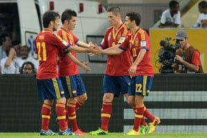 Confederations Cup: Spain romp to record 10-0 win over Tahiti