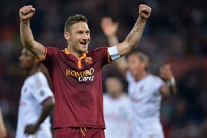 Serie A: AS Roma beat AC Milan to keep Europa hopes alive