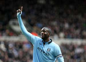 Yaya Toure leads African goal charge in England