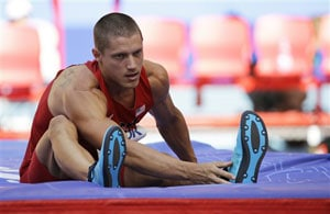 Defending champ Trey Hardee out of decathlon after no-height at World Athletics Championships