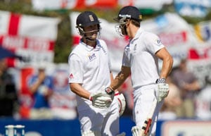 2nd Test, Day 1: Compton, Trott slam tons against New Zealand