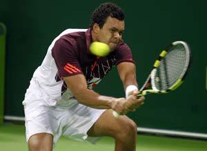 Jo-Wilfried Tsonga crashes out in Paris, World Finals hopes vanish