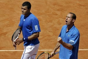 Tsonga, Monfils in France Davis Cup team