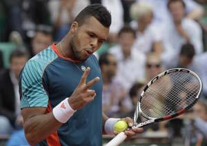 Tsonga, Berdych into French Open last 16