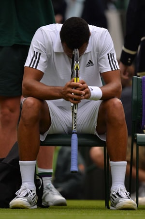 Wimbledon 2013: Jo-Wilfried Tsonga out with knee injury