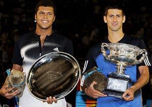 History beckons for Djokovic, Tsonga