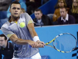 Jo-Wilfried Tsonga eases into quarter-finals of Metz Open