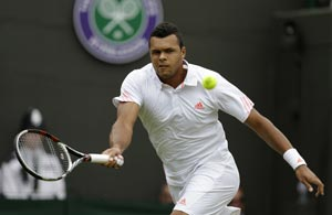 Wimbledon 2012: Tsonga beats Garcia-Lopez in second round