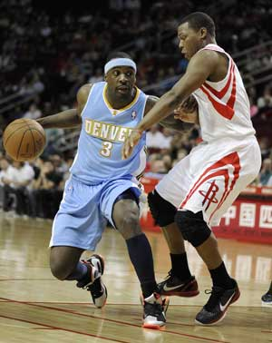 Lawson, Afflalo lead Nuggets past Rockets