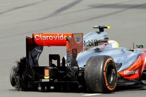 Kerb could be cause of tyre woe:former F1 official