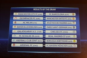 Champions League Round of 16: Barcelona drawn with Manchester City, Arsenal face Bayern Munich
