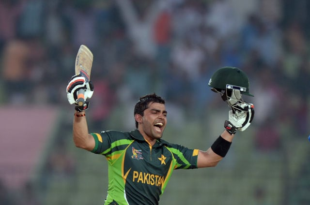 Umar Akmal first Pakistan wicketkeeper to record a century in Asia Cup