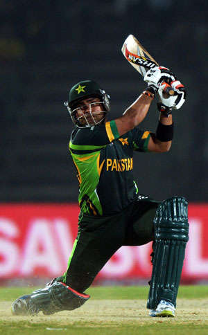 Umar Akmal credits Pakistan seniors for support after match-winning hundred