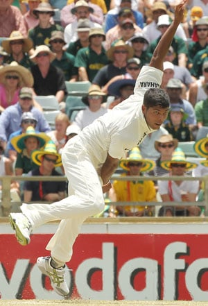 Indian bowlers rise from the ashes in Perth