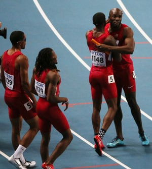 United States wins men's 4x400 metres relay gold at world athletics