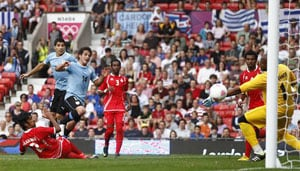 Olympics 2012 Men's football: Uruguay beat Emirates 2-1