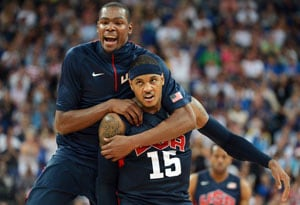 London 2012: US NBA stars defeat Argentina, clash with Spain in final