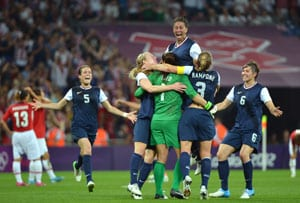 London 2012 Football: Carli Lloyd's golden double gives USA revenge over Japan
