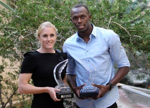 Bolt, Pearson named athletes of the year: IAAF