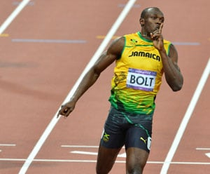 London 2012 Athletics: Usain Bolt targets record in Olympic finale