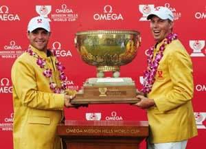 US win Omega Mission Hills World Cup golf