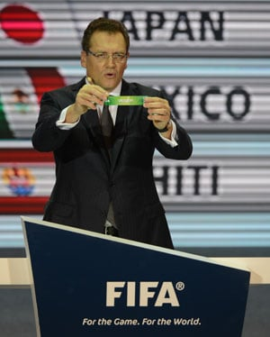 Chef gets Confederations Cup draw recipe wrong