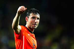 Netherlands captain Mark Van Bommel makes way for youth