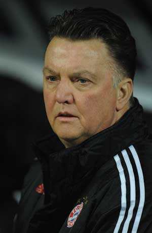 Van Gaal surprised by Inter's attacking attitude