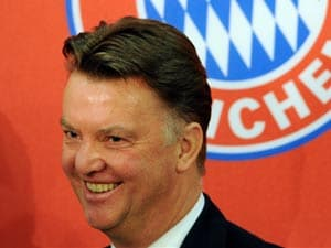 Dutch Coach Louis Van Gaal wants to be Manchester United F.C. Manager