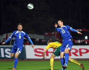 History-makers Bosnia, holders Spain, qualify for World Cup