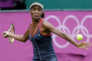 London 2012 Tennis: Venus crushes Wozniak to keep gold bid on track