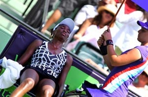 Venus Williams withdraws from Miami with back injury