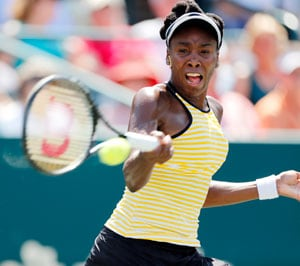 Family Circle Cup : Venus Williams ousted, Sara Errani in quarters