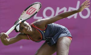 London 2012 Tennis: Venus, Serena cruise to their wins
