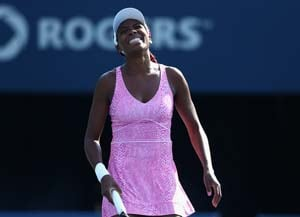 Flipkens ousts Venus Williams in first round at Toronto