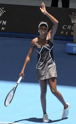 Venus Williams leads US to victory over South Africa