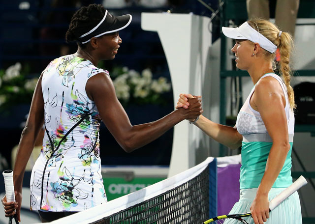 Venus Williams beats Caroline Wozniacki in Dubai Open semifinals