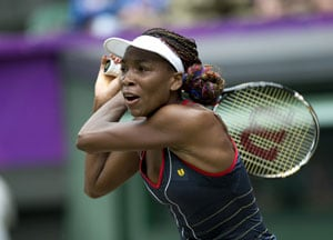 London 2012 Tennis: Venus Williams loses in 3rd round of Olympics