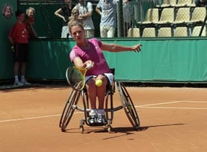 Wheelchair tennis star Esther Vergeer retires