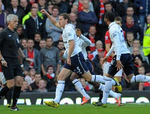 Historic win: Tottenham shock Manchester United after 23-year Old Trafford wait