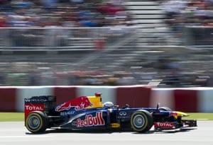 Sebastian Vettel fastest in Canadian Grand Prix final practice
