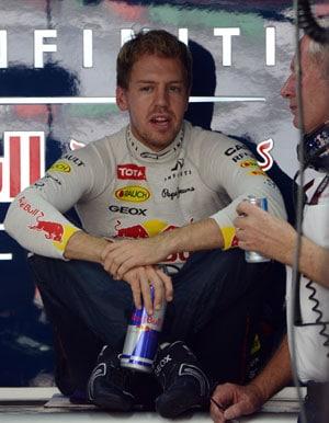 Sebastian Vettel dominates again in India Grand Prix practice