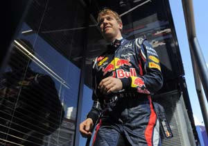 Sebastian Vettel fastest in second practice at Japanese Grand Prix
