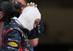 Sebastian Vettel sent back to last place for Abu Dhabi GP