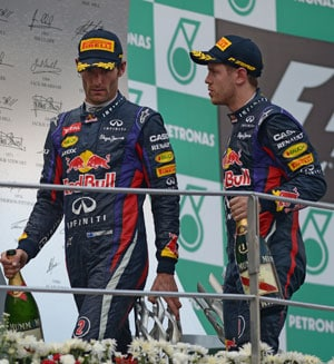 Sebastian Vettel and I share great camaraderie despite Malaysia incident, says Mark Webber