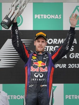 Sebastian Vettel apologises for unfairly overtaking Mark Webber