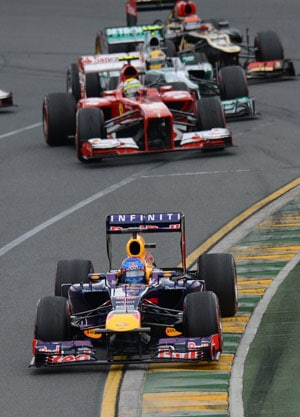 Australian GP: Troubled start to the F1 2013 season for Red Bulls